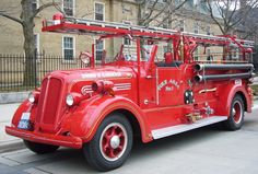 Old Scarborough Fire Truck