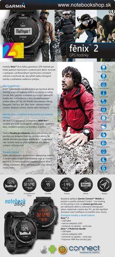 Garmin fénix 2 - Nová generácia športových a outdoorových GPS hodiniek Garmin fénix 2. Pôvodné hodinky Garmin fénix a tactix za znížené ceny.
