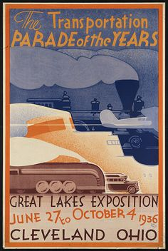 The transportation parade of the years. by Boston Public Library, via Flickr