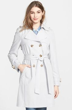 DKNY+'Darcy'+Drape+Double+Breasted+Trench+Coat++(Regular+&+Petite)+available+at+#Nordstrom