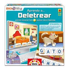 Un juguete para aprender a deletrear de una forma sencilla pero sobre todo muy divertida ;)