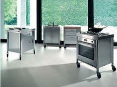 Cucine free standing: Cucina [f] da Alpes Inox | Casa | Pinterest ...
