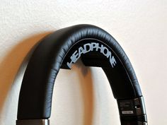 3-d Printed Head Phone holders  Our Headphone holders are made via cutting edge 3d printing method.  Made from PLA which is a biodegradable plastic