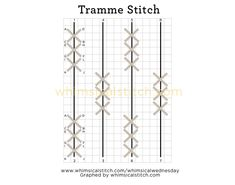 Tramme Time Part 2 — whimsicalstitch.com