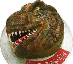 Your Dinosaur cake will be freshly made just prior to your party date. Your Dinosaur cake will be created using only quality ingredients