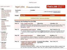 Uberfuzz jobsite legal jobs - UBERFUZZ classifieds