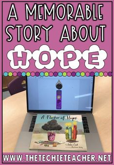 A Memorable Story about Hope for Elementary Students: A Flicker of Hope by Julia Cook. Come grab some technology extension activities to support this wonderful story. Great for class meetings, character building and text to self connections! Elementary Counseling, Counseling Activities, School Counselor, Career Counseling, Elementary Schools, Looking For Alaska Quotes, Julia Cook, Text To Self Connection, Class Meetings