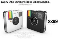 #Socialmatic la cámara estilo #Instagram de #Polaroid, se lanzará en el primer trimestre de 2014 #fotografía