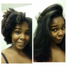 {Grow Lust Worthy Hair FASTER Naturally}        ========================== Go To:   www.HairTriggerr.com ==========================   Babbbbbby Yessssss!!!! Natural  Shrunken vs Naturally Straightened and LONG!!!!