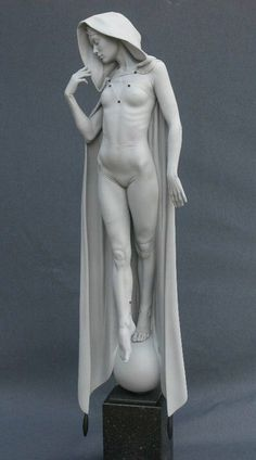 Talbot Michael 1953 #sculpture #statue #cloak: