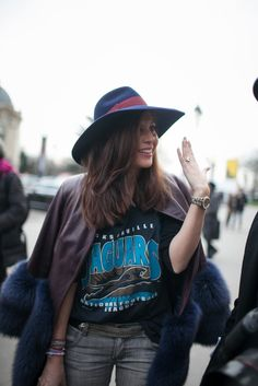 On the streets of Paris Couture Week [Photo by Kuba Dabrowski]