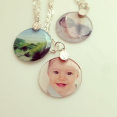 Cute and Easy DIY Photo Pendant Necklaces find glass tiles bails bases at ecrafty.com http://www.ecrafty.com/c-6-photo-jewelry.aspx