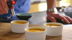 Crème brûlée - 24Kitchen Cupcake Cookies, Cupcakes, Pie Cake, Pie Dessert, High Tea, Creme, Food And Drink, Healthy Recipes, Healthy Food