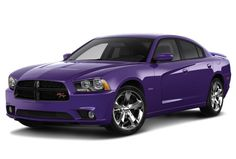 2014 Dodge Charger Purple