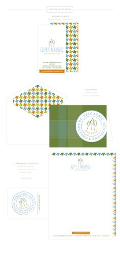Emily McCarthy Branding | Greenburg Pediatric Dentistry Printed Materials