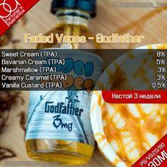 E Juice Recipe, Recipe List, Diy Vape Juice, Clone Recipe, Bavarian Cream, Vanilla Custard, Food Lists, Drink Bottles, Juices