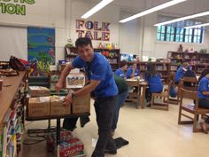 McGraw-Hill Education is happy to make a small contribution to Deloitte's #ImpactDay at Houston Fort Worth ISD!