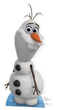 Olaf (Snowman) - Frozen Sagoma