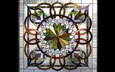 Lumpkin Stained Glass | Beveled Glass | Finest Antiques | Decorative Arts