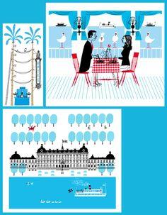 Today I love: Klas Fahlen Illustration