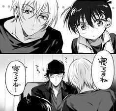 Akai Amuro and conan