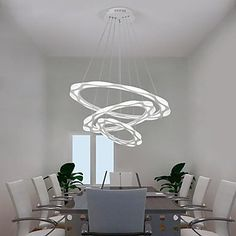 Nordic Dining-Room LED Chandelier – contemporary LED