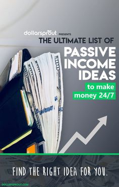 Need passive income ideas to pad your bank account? Passive income, even in small amounts, is a great way to supplement your take home pay. Make money while you sleep and see which one of these passive income ideas is right for you by clicking through to the article. #makemoney #makemoneyonline #passiveincome #dollarsprout
