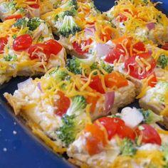 Appetizers: Veggie Pizza