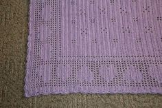 """The name of the pattern is """"Hearts Delight"""" from the book 1-2-3 Skein Crochet  (edited by Judy Crow)"""