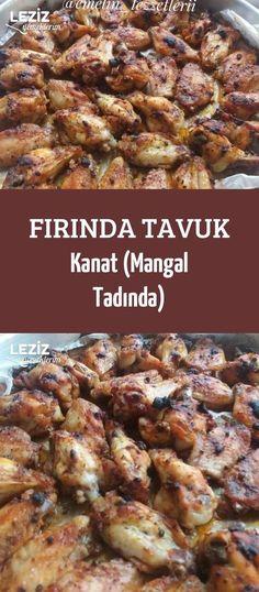 Fırında Tavuk Kanat (Mangal Tadında)