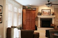 1000 images about interior shutters on pinterest for Should plantation shutters match trim