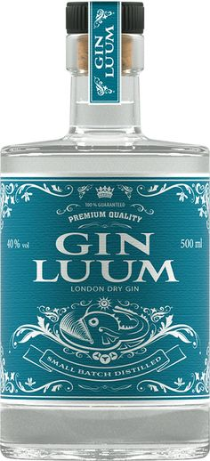 Gin of the World# Small Batch # London Dry Gin #