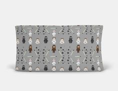 Trend Lab Deluxe Flannel Changing Pad Cover Birch