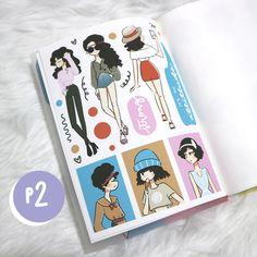 Art | Cute Art | Planner Sticker | Princess Stickers | Affordable Stickers | Erin Condren Horizontal Stickers | Erin Condren Vertical Stickers Stickers | Etsy Stickers | Planner Stickers | Cute Stickers | Cute Planner Stickers | Affordable Planner Stickers | Kawaii Stickers | Kawaii Planner Stickers | PaperDollzCo | PaperDollzCo Stickers | Girl Planner Sticker |Cute girl Planner Sticker | Sticker Book Cute Stickers, Kawaii Stickers, Girl Themes, Cute Makeup, Curly Girl, Erin Condren, Sticker Paper, Planner Stickers, Cute Art