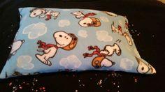 Fleece Snoopy pillowcase