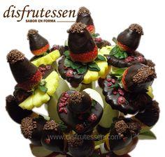 Ixchel - Disfrutessen - Ramos de fruta y chocolate