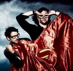 Misha's glasses.... Hot damn.