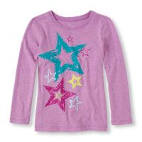 Long Sleeve Star Graphic Tee