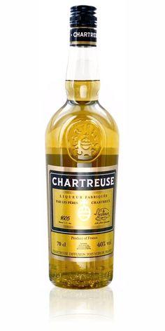 Chartreuse jaune - Pères Chartreux - #liqueur #plantes - #voiron, #isere (Rhône-alpes) - 70 cl - vol. 40%
