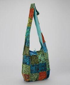 Blue Boho Patchwork Bag by Zulily Boho Bags df45f3929fe68