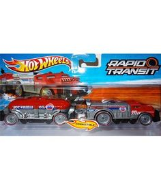 Hot wheels Fast Freight Train by Mattel. $9.19. Hot Wheels Rapid Transit vehicles can be connected to form one massive vehicle. Race it on any Hot Wheels track - even ones that have a loop! Includes 1 engine and 1 car. Not for use with some Hot Wheels sets. Ages 3+ Made in China