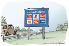 One leads to the other and its all not good for you. #minimumwage #fastfood #politics