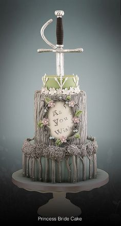 Princess Bride Cake by Little Cherry Cake Company