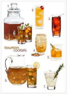 Summer Bourbon Cocktails | MyGourmetConnection