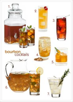 Summer Bourbon Cocktails   MyGourmetConnection