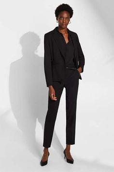 Blazer & Anzüge für Damen im Online Shop kaufen   ESPRIT Im Online, Business Hose, Models, Stretch Pants, Mix Match, Blazer, Pure Products, Shopping, Style