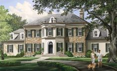 I want to build this house some day----William E. Poole Dream Home---Westbury