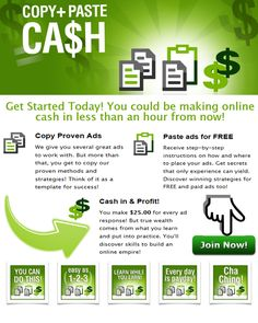 The Most Complete No Fail Online Income Marketing & Cash Generating System For Everyone EVER !! {YOU HAVE TO SEE THIS}!    http://copypastecash.com/cashnow/