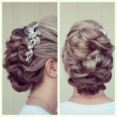 Lake Forest Wedding - Hair by Dee