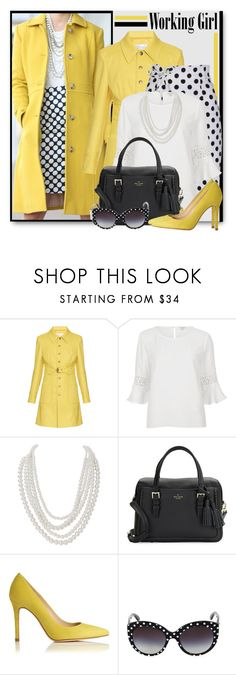 """Working It in Polka Dots!"" by brendariley-1 ❤ liked on Polyvore featuring RED Valentino, River Island, Humble Chic, Kate Spade, L.K.Bennett, Dolce&Gabbana and WorkWear"